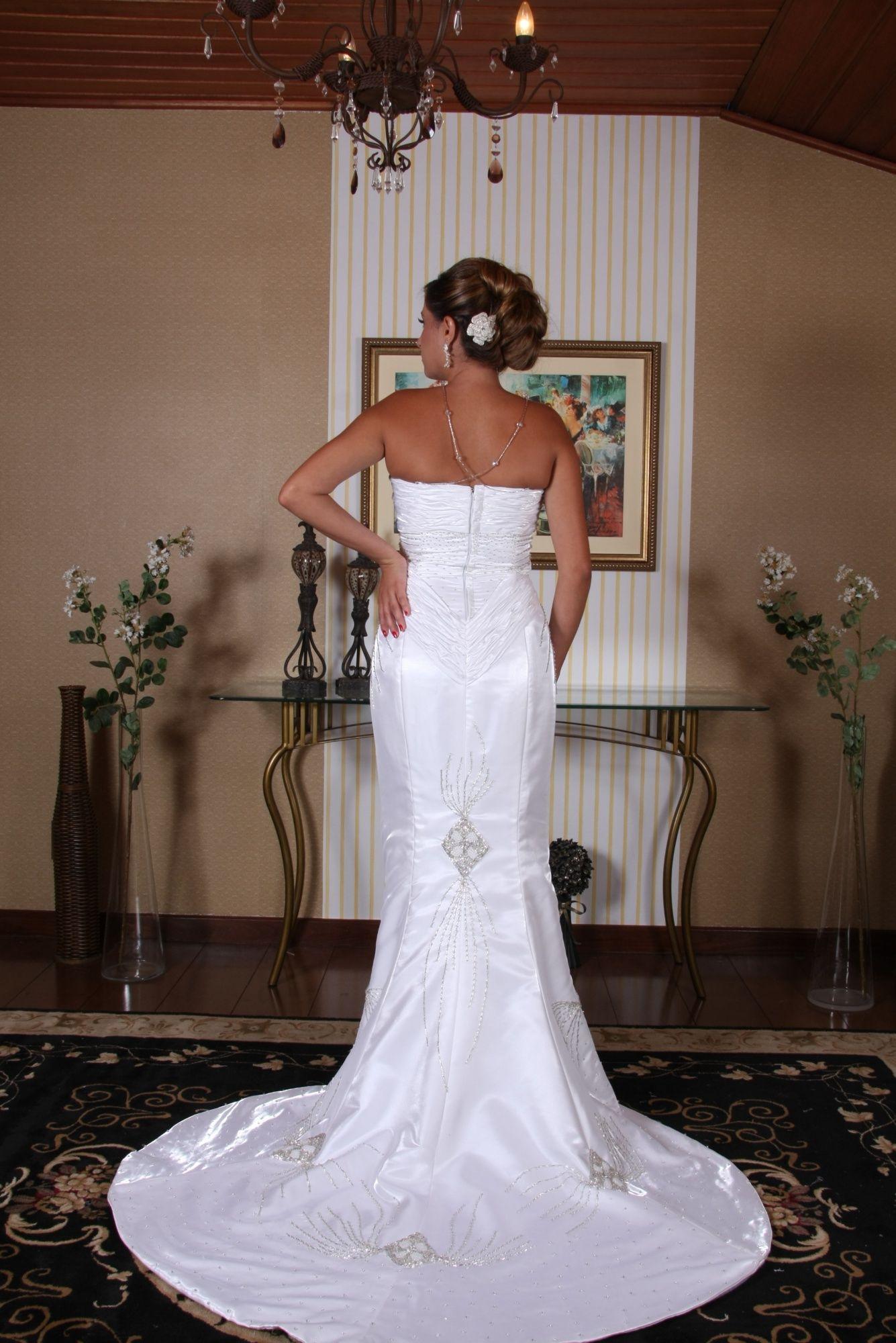 Vestido de Noiva Sereia - 4 - Hipnose Alta Costura e Spa para Noivas e Noivos - Campinas - SP Vestido de Noiva, Vestido de Noiva Sereia, Hipnose Alta Costura