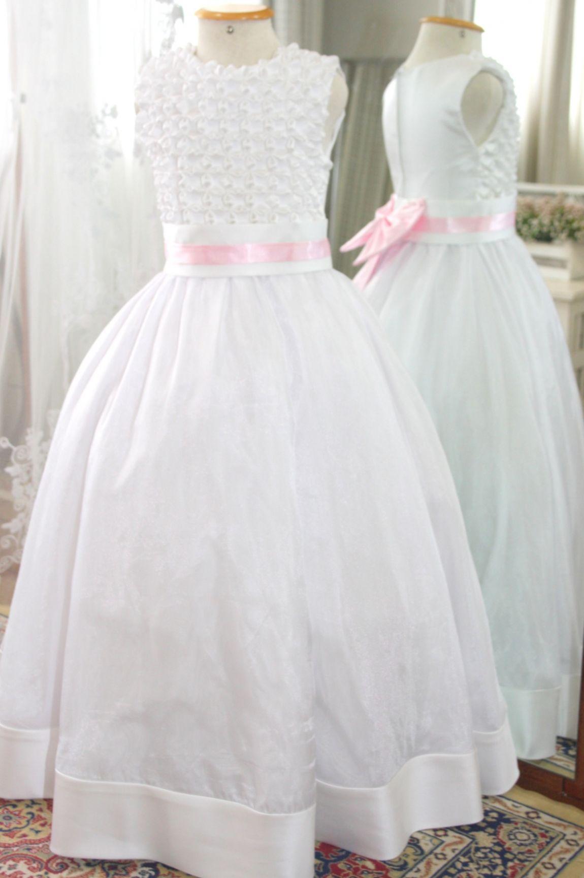 Vestidos para Daminha - 136 - Hipnose Alta Costura e Spa para Noivas e Noivos - Campinas - SP Vestido de Daminha, Vestido para Daminha de Casamento, Hipnose Alta Costura