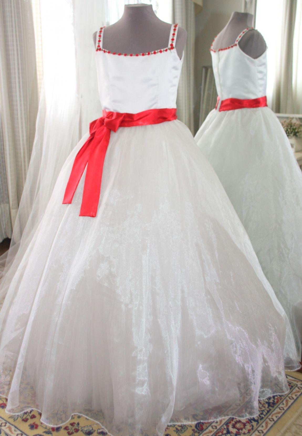 Vestidos para Daminha - 139 - Hipnose Alta Costura e Spa para Noivas e Noivos - Campinas - SP Vestido de Daminha, Vestido para Daminha de Casamento, Hipnose Alta Costura
