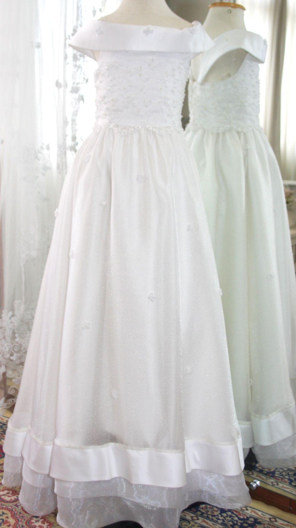 Vestidos para Daminha - 141 - Hipnose Alta Costura e Spa para Noivas e Noivos - Campinas - SP Vestido de Daminha, Vestido para Daminha de Casamento, Hipnose Alta Costura