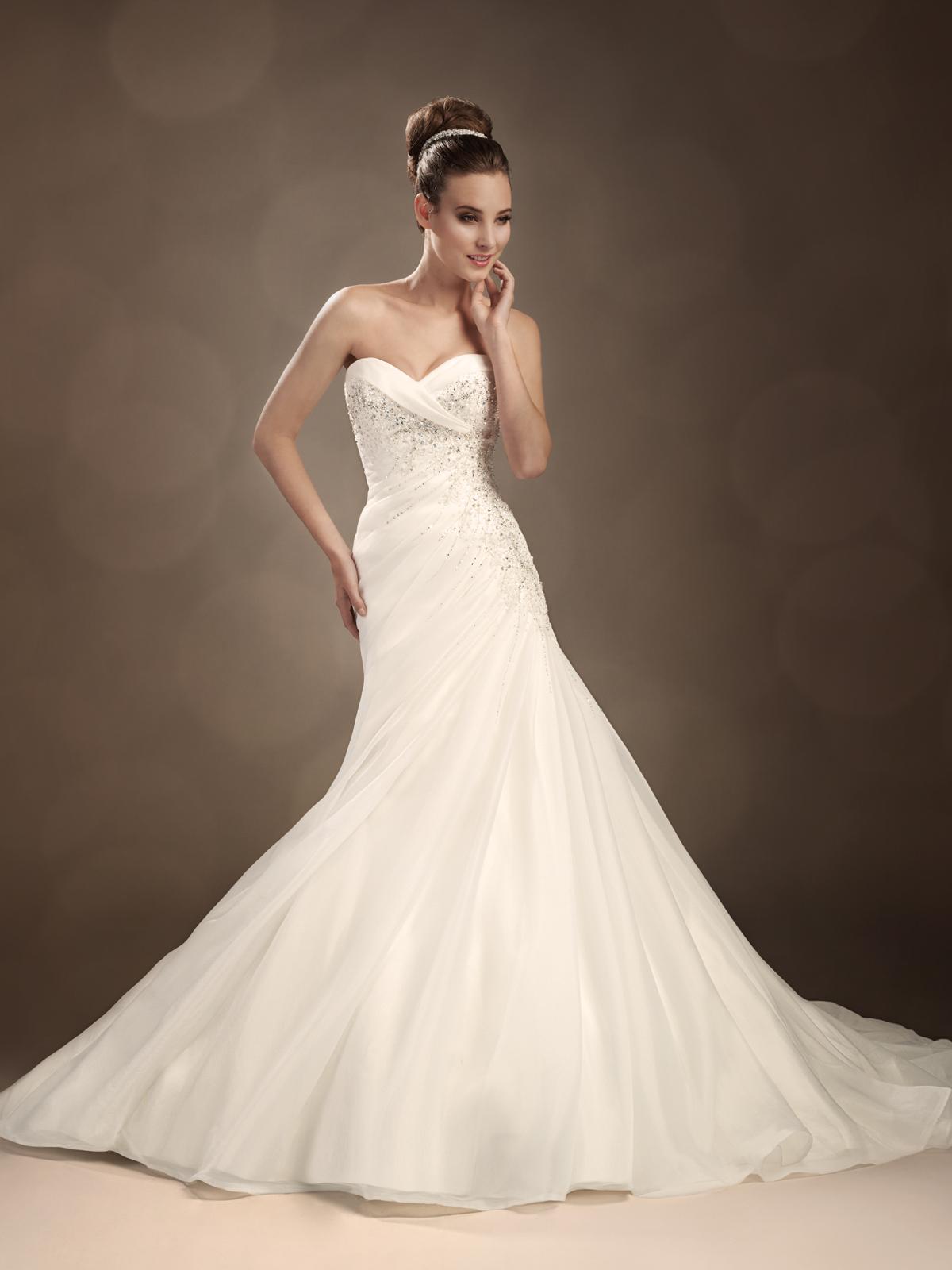 Vestido de Noiva Nice - Hipnose Alta Costura e Spa para Noivas e Noivos - Campinas - SP Vestido de Noiva, Vestidos de Noiva Sereia, Hipnose Alta Costura, Vestido de Noiva Nice